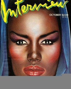 Grace Jones Interview mag 1984