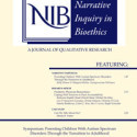 Essay published in the Narrative Inquiry in Bioethics medical journal