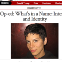 What's In A Name: Intersex & Identity